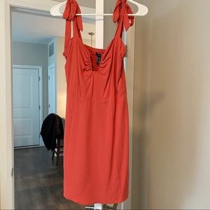 Coral/pink dress - new with tags